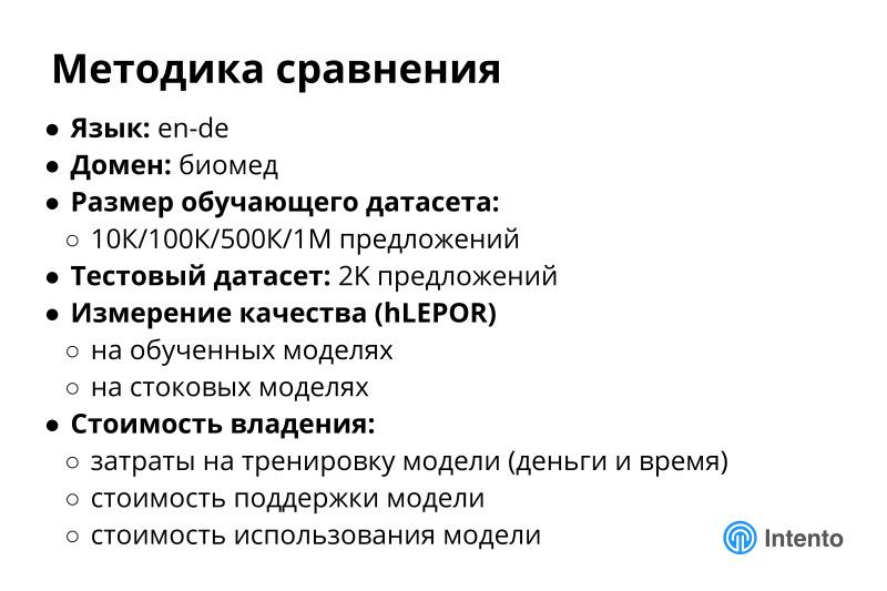 Ландшафт сервисов облачного машинного перевода. Лекция в Яндексе - 29