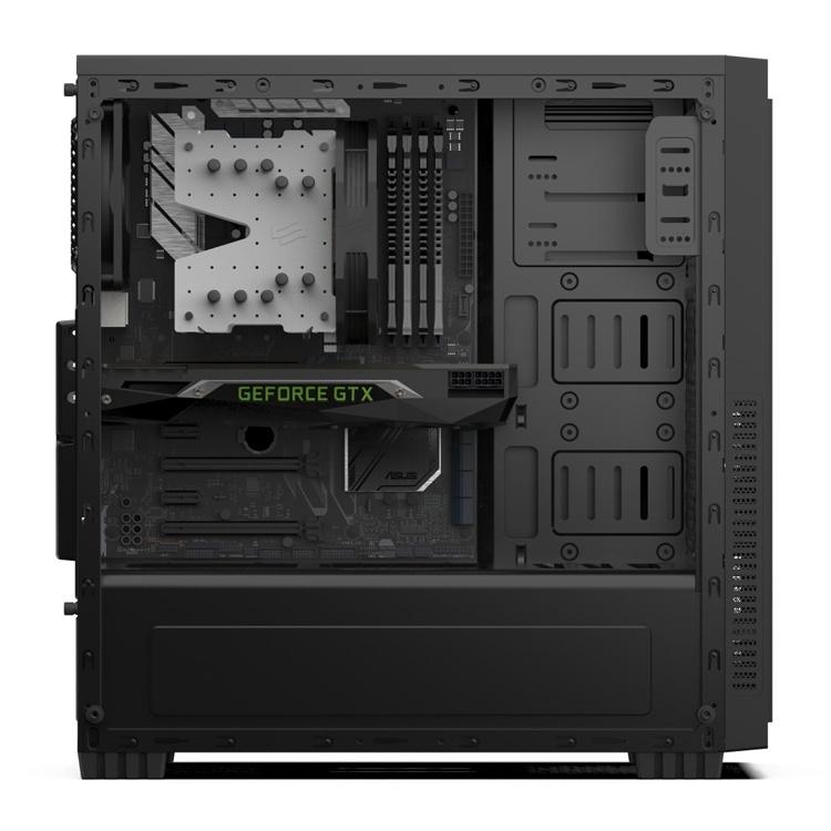 ПК-корпус SilentiumPC Regnum RG1 TG Pure Black обойдётся в 40 евро