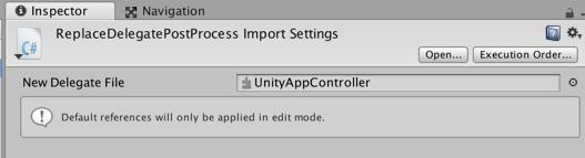 Unity3D: Модификация делегата iOS приложения - 6