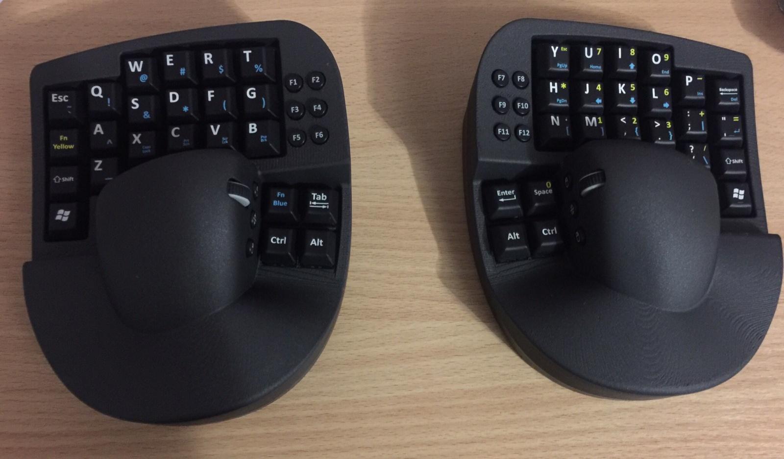 Опыт использования гибрида клавиатуры и мыши в программировании - 2