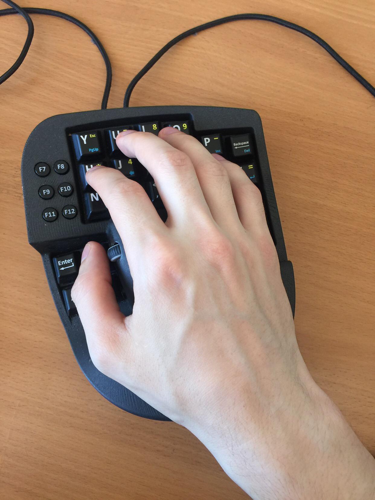 Опыт использования гибрида клавиатуры и мыши в программировании - 3