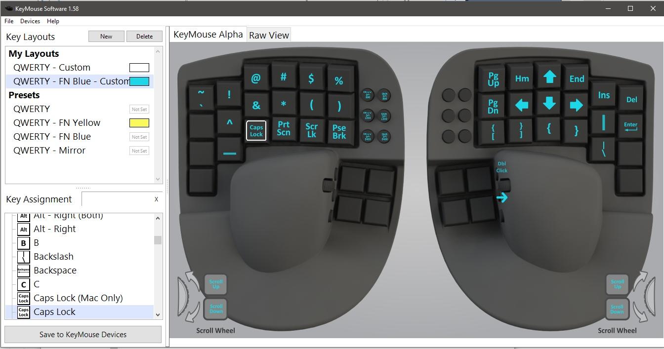 Опыт использования гибрида клавиатуры и мыши в программировании - 4