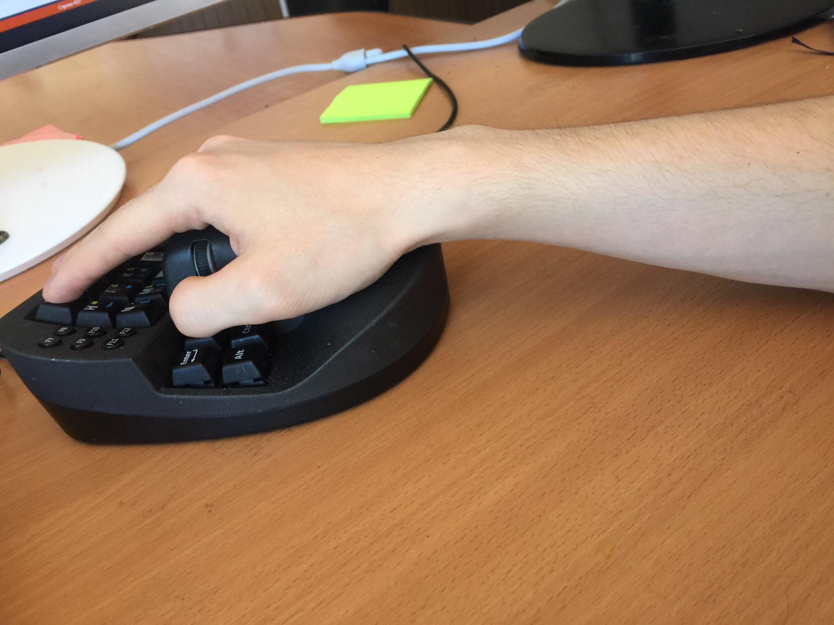 Опыт использования гибрида клавиатуры и мыши в программировании - 5