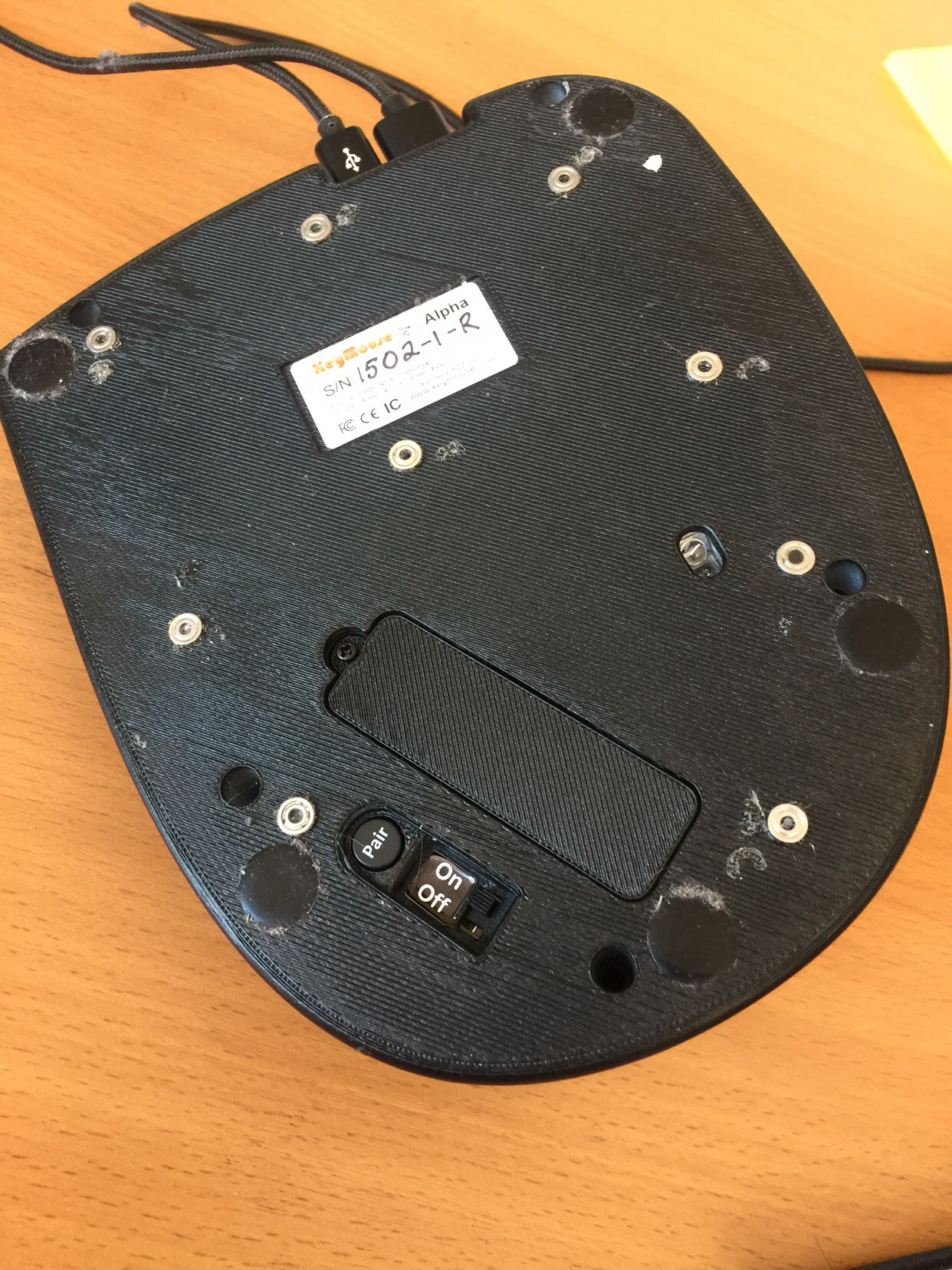 Опыт использования гибрида клавиатуры и мыши в программировании - 6