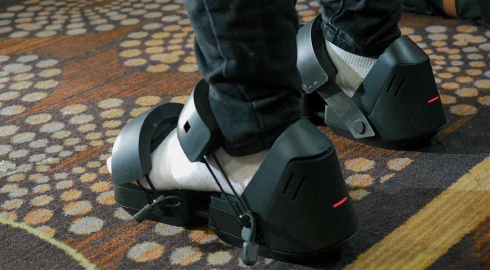 Google запатентовала VR-обувь, в которой можно ходить вечно - 1