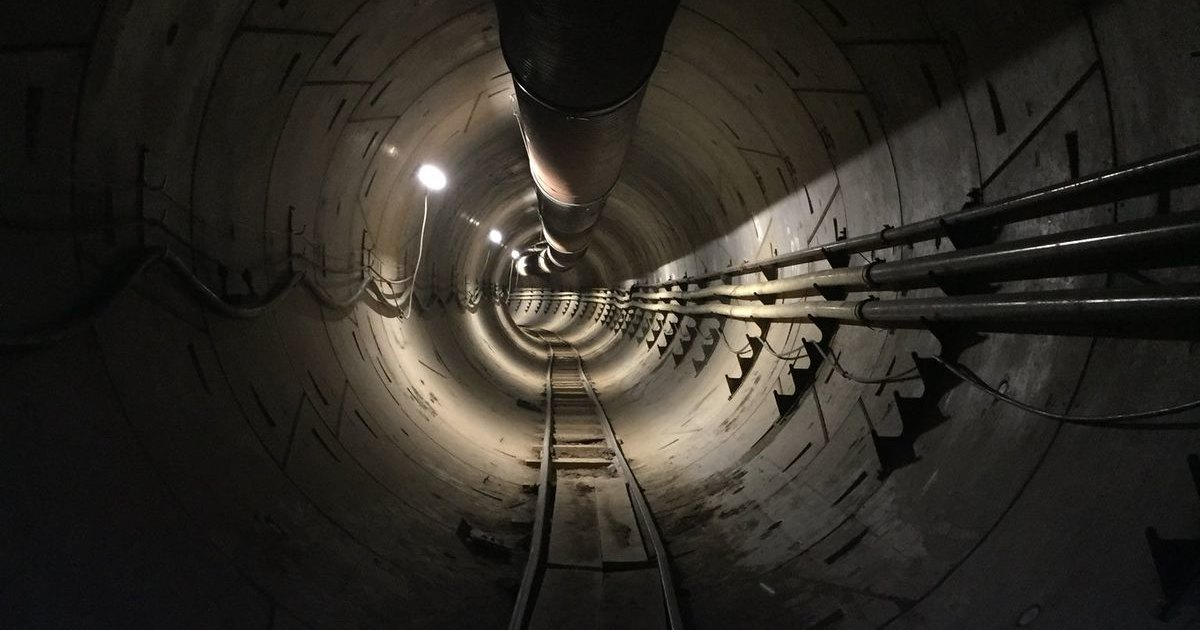 The Boring Company прорыла первый тоннель