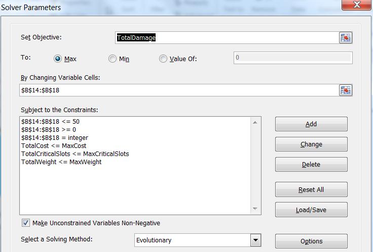 Как создать надёжную игровую механику в Excel. Часть 2 - 7