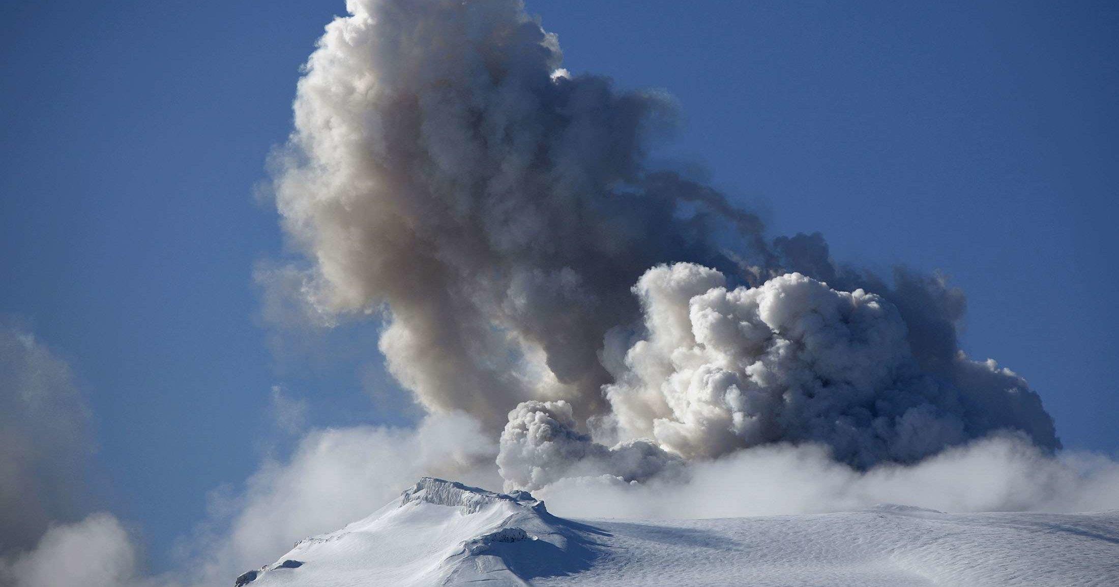 Установлена роль вулканов в выделении метана ледниками