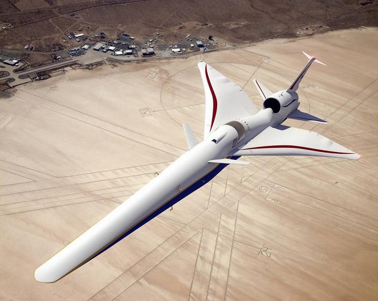 В мастерских Lockheed Martin начали строить тихий сверхзвуковой реактивный самолет
