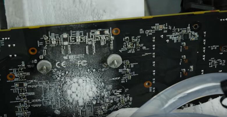 Видеокарту AMD Radeon RX 590 удалось заставить работать на рекордной частоте GPU