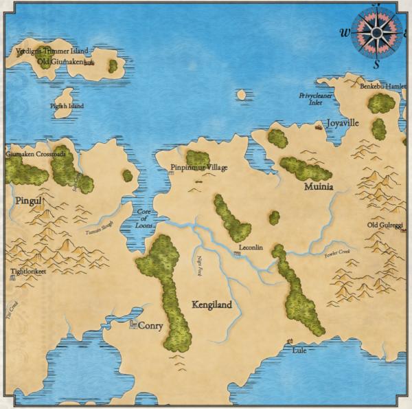 Как я создавал карты континентов для своей игры - 14