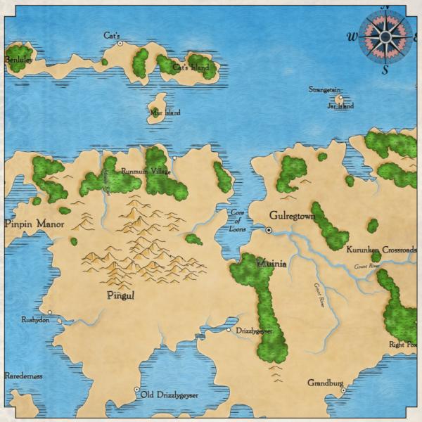 Как я создавал карты континентов для своей игры - 15