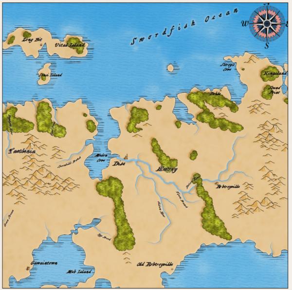 Как я создавал карты континентов для своей игры - 16