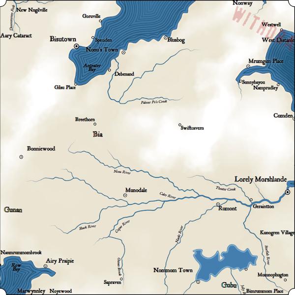 Как я создавал карты континентов для своей игры - 19