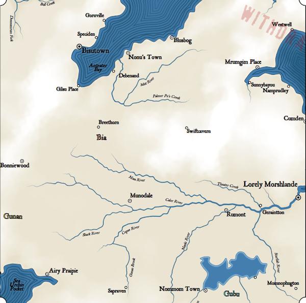 Как я создавал карты континентов для своей игры - 20