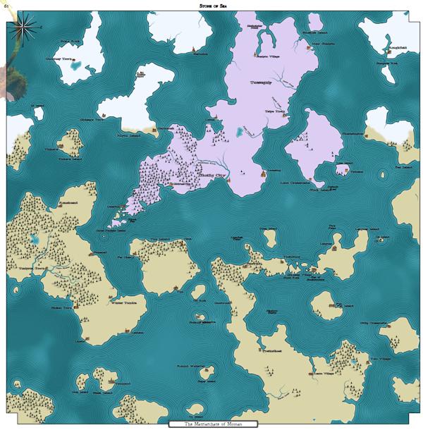 Как я создавал карты континентов для своей игры - 22