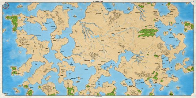 Как я создавал карты континентов для своей игры - 27