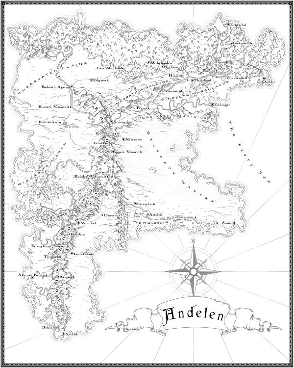 Как я создавал карты континентов для своей игры - 28
