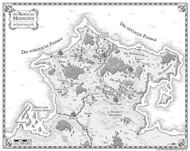 Как я создавал карты континентов для своей игры - 29