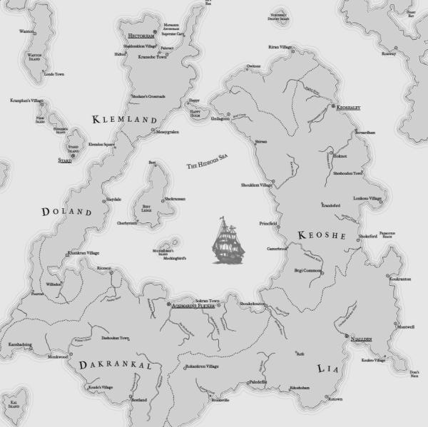 Как я создавал карты континентов для своей игры - 30