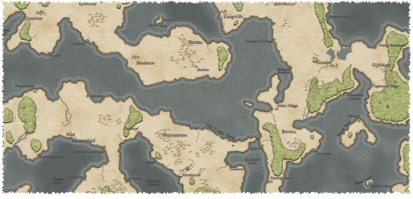Как я создавал карты континентов для своей игры - 38