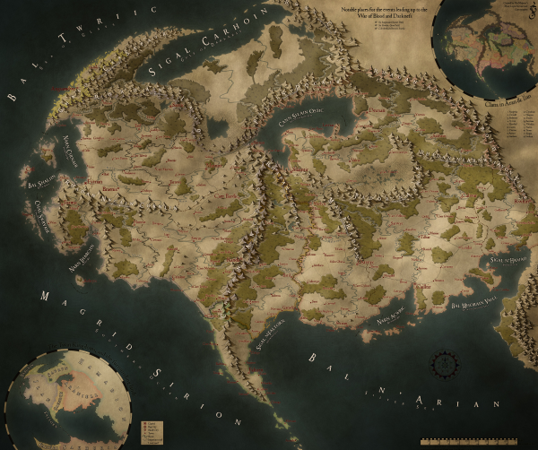 Как я создавал карты континентов для своей игры - 4