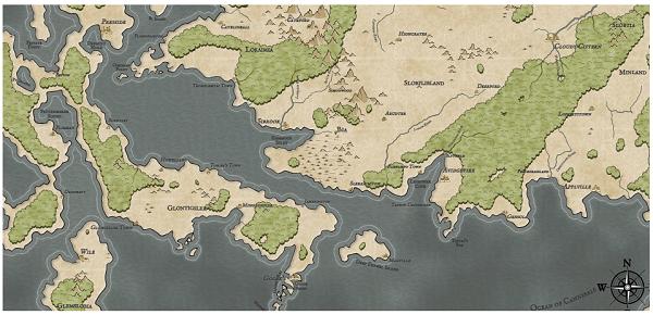 Как я создавал карты континентов для своей игры - 40