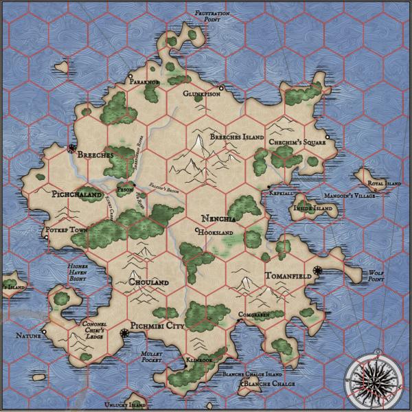 Как я создавал карты континентов для своей игры - 44