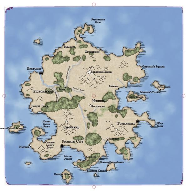 Как я создавал карты континентов для своей игры - 45