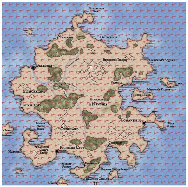 Как я создавал карты континентов для своей игры - 59