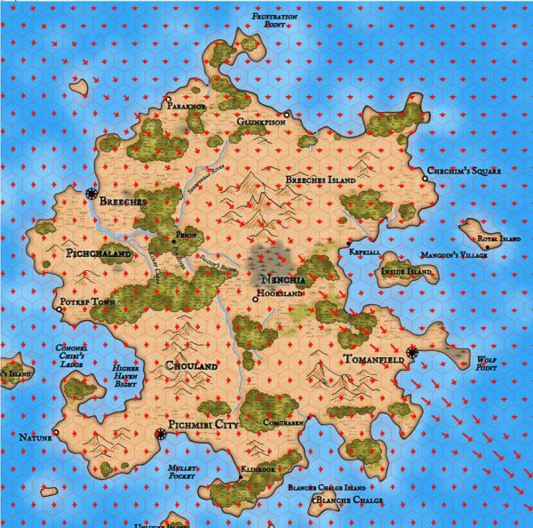 Как я создавал карты континентов для своей игры - 62