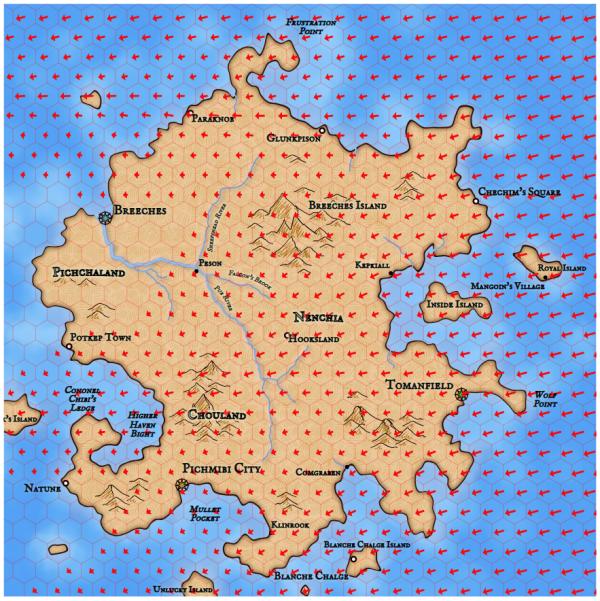 Как я создавал карты континентов для своей игры - 65