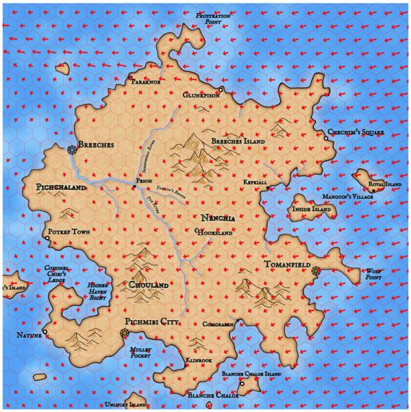 Как я создавал карты континентов для своей игры - 66