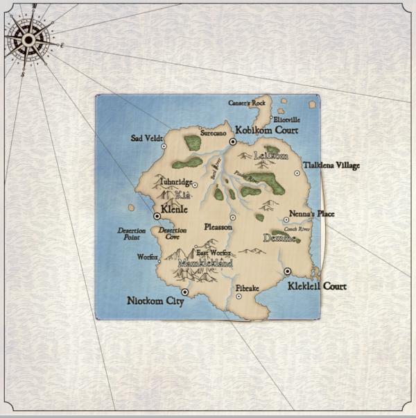 Как я создавал карты континентов для своей игры - 8