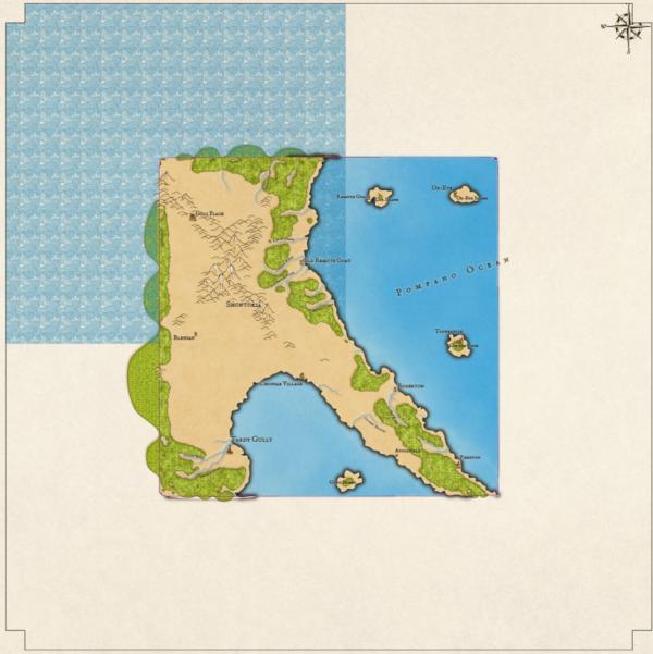 Как я создавал карты континентов для своей игры - 9