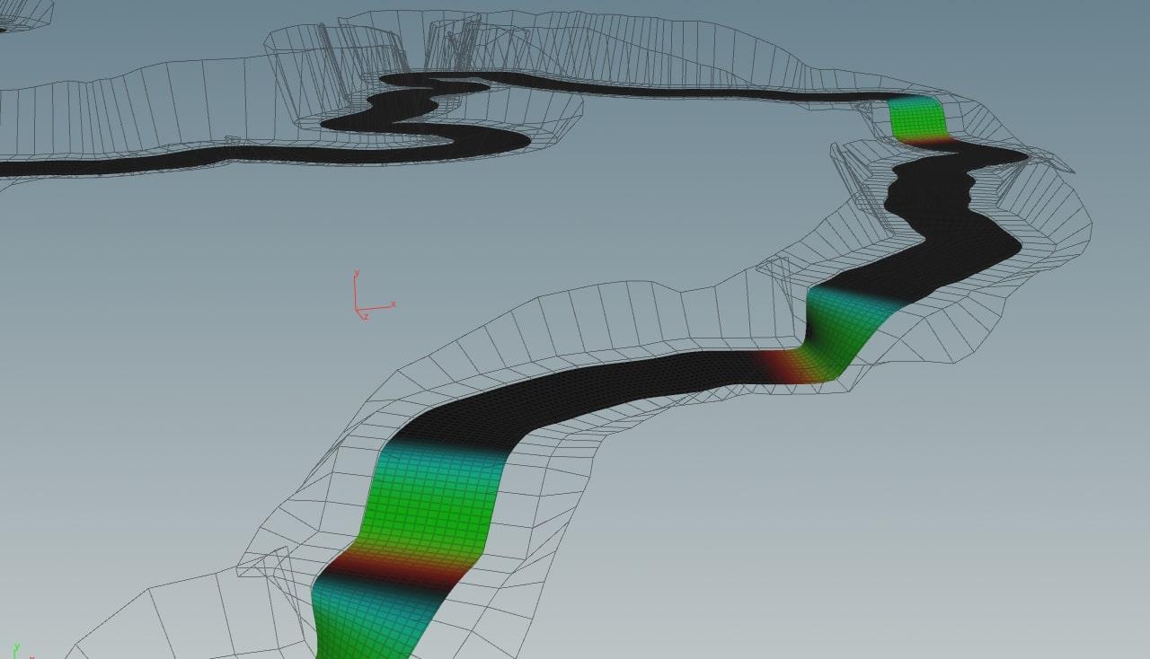 Симулируем реалистичную реку в Houdini и Unreal Engine 4 - 18