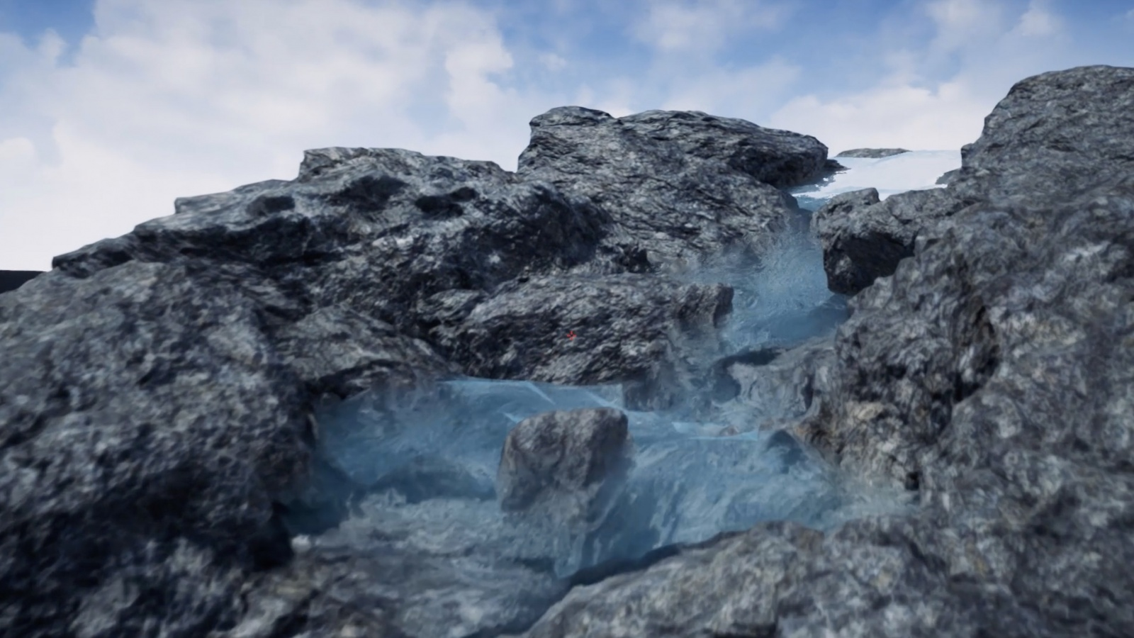 Симулируем реалистичную реку в Houdini и Unreal Engine 4 - 1