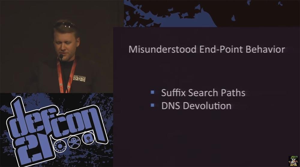 Конференция DEFCON 21. DNS может быть опасен для вашего здоровья. Часть 1 - 25