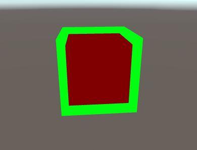 Создание outline на LWRP в Unity - 1