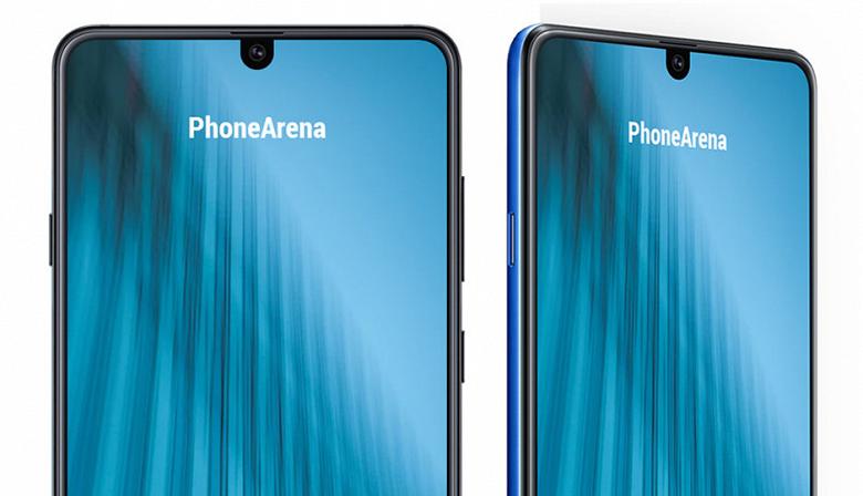 Samsung Galaxy M2 может стать первым смартфоном компании с челкой