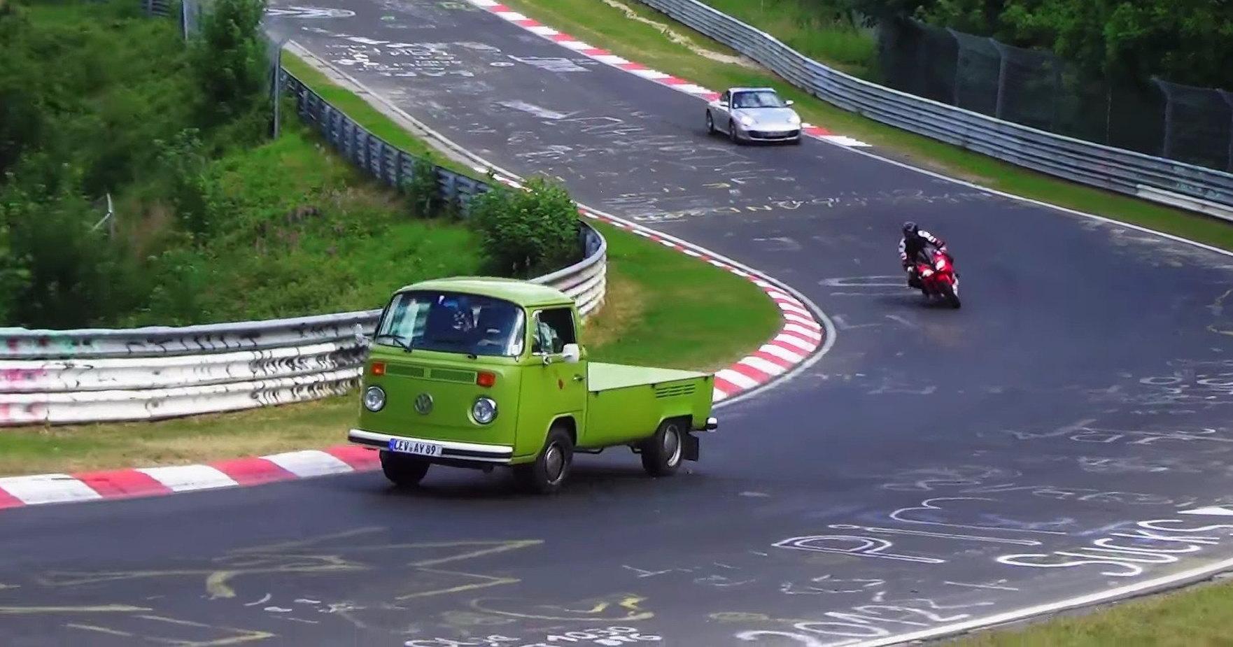 Самые странные транспортные средства Нюрбургринга в одном видео