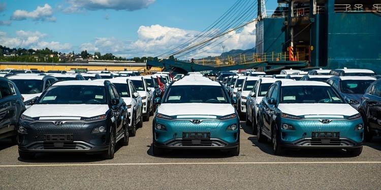 Hyundai начала наращивать производство электромобилей Kona Electric