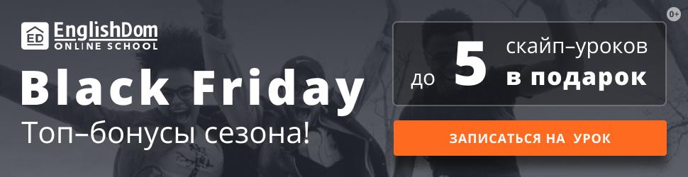 Черная пятница, традиции и английские идиомы о шоппинге - 1