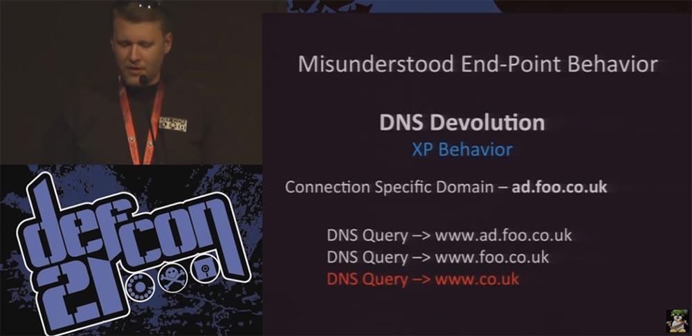 Конференция DEFCON 21. DNS может быть опасен для вашего здоровья. Часть 2 - 1