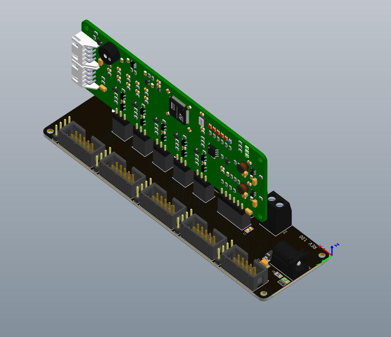 Модуль управления силовым преобразователем: разработка и сборка - 4