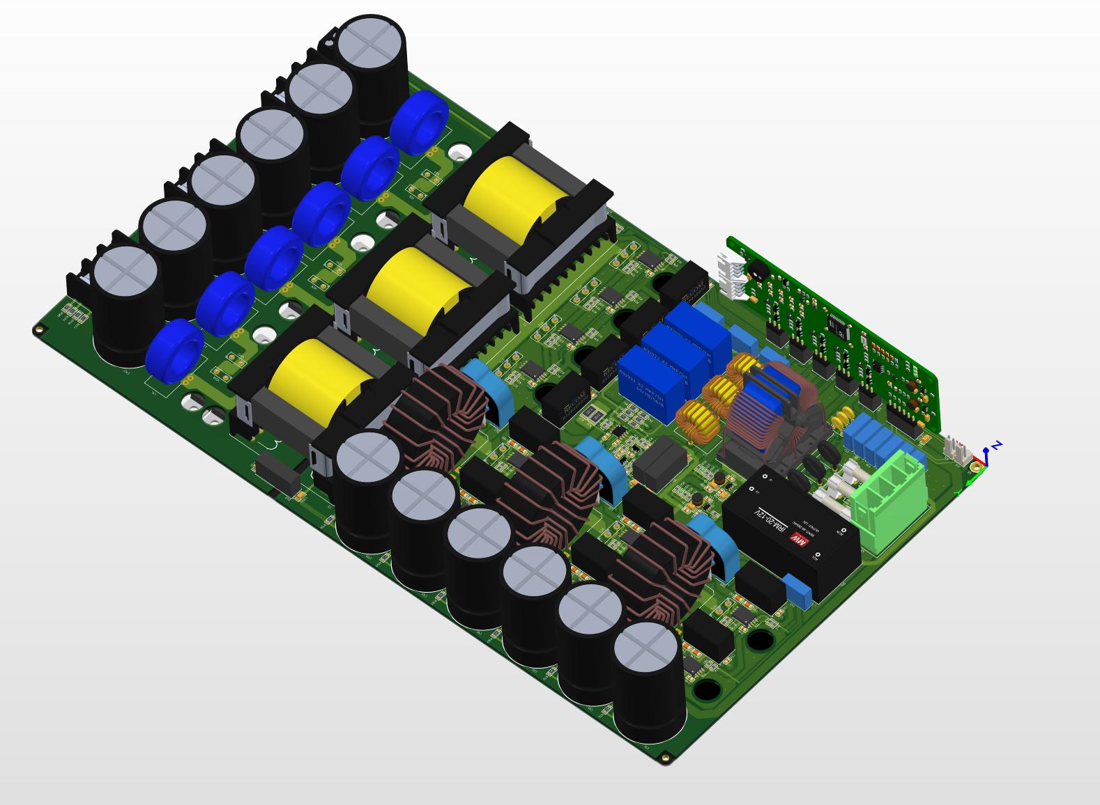Модуль управления силовым преобразователем: разработка и сборка - 5