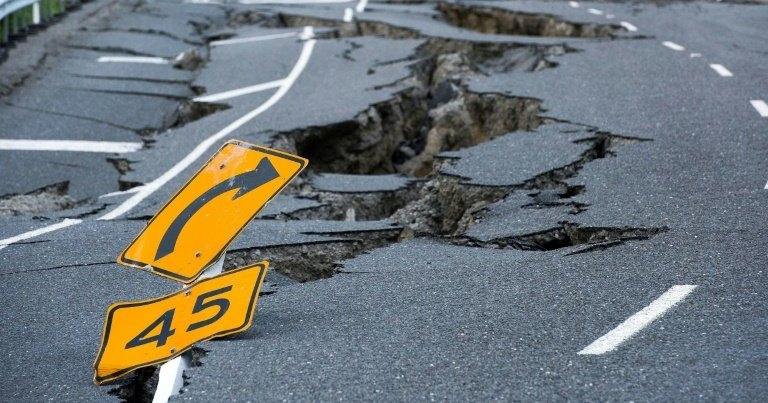 Из-за мощного землетрясения сближаются острова Новой Зеландии