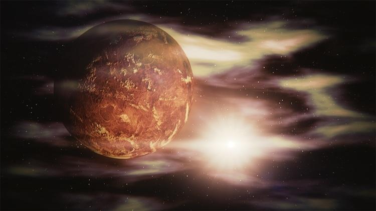 Над полярными областями Венеры существует озоновый слой