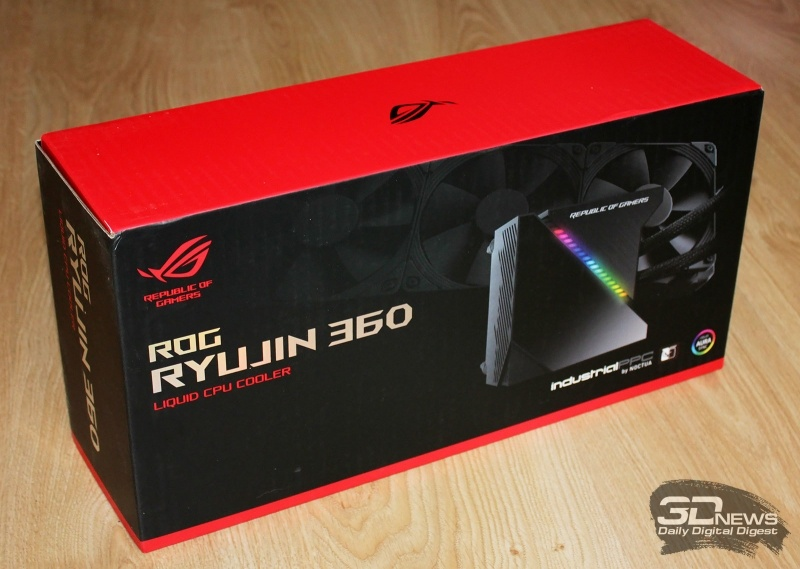Новая статья: Система жидкостного охлаждения ROG Ryujin 360: и ты, ASUS?