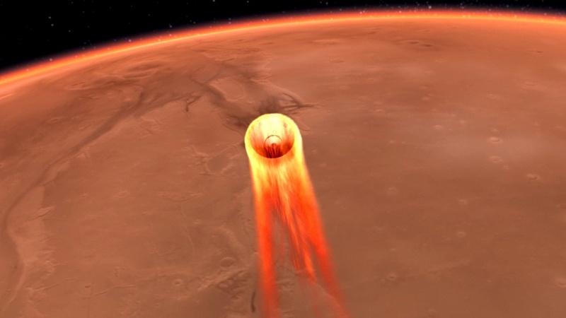 InSight готовится к посадке на Марс - 1